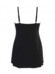 """Robe de bain Lovey noire - Rock Solid - """"M"""" - Miraclesuit Swimwear"""