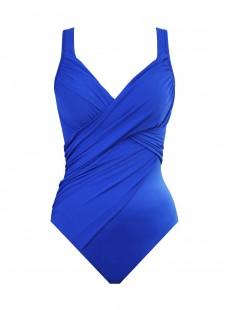 "Maillot de bain gainant Revele bleu - Rock Solid - ""M"" - Miraclesuit Swimwear"