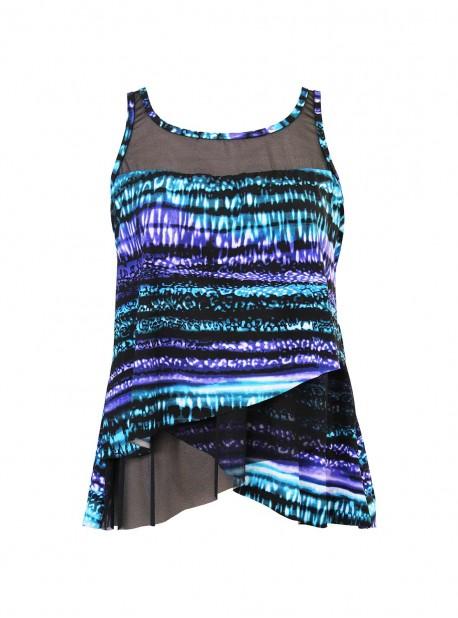"Tankini Mirage - Cat Bayou - ""W"" -Miraclesuit Swimwear"