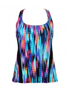 "Top Surf's up - Prismatix - ""M"" -Miraclesuit Swimwear"