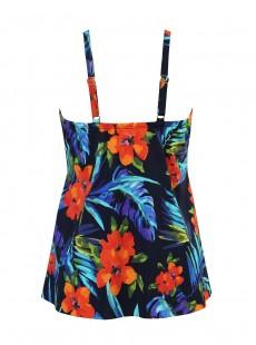 "Tankini Marina - Samoan Sunset  - ""M"" -Miraclesuit Swimwear"