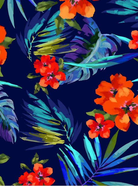 "Paréo - Samoan Sunset - ""M"" -Miraclesuit Swimwear"