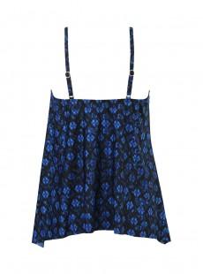 "Tankini Peephole - Sunset cay - ""M"" -Miraclesuit Swimwear"