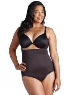 Culotte taille extra-haute noire 2924 Fit Advantage Fuller Figure