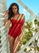 "Maillot de bain gainant Madrid Rouge - Rock Solid - ""M"" -Miraclesuit Swimwear"