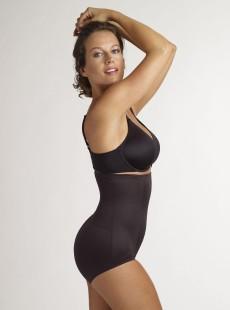 Culotte taille extra-haute noire 2925-1 Fit Advantage Long Torso