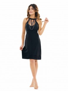 Robe de bain - Black Necklace Calypso - Miradonna