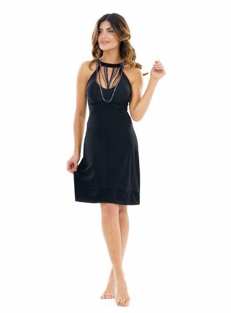 Robe de bain - Black Necklace Calypso - Miradonna