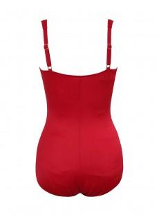 "Maillot de bain gainant Zip code Rouge - So Riche - ""M"" - Miraclesuit swimwear"