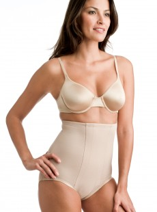 Culotte taille haute nude - Shape with an Edge - Miraclesuit Shapewear