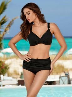 "Culotte de bain Noire Norma-Jean -Solid -  ""M"" -Miraclesuit Swimwear"