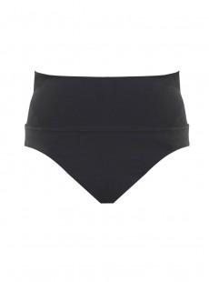 Culotte de bain lissante taille haute Gimlet Noir - Comet - Amoressa