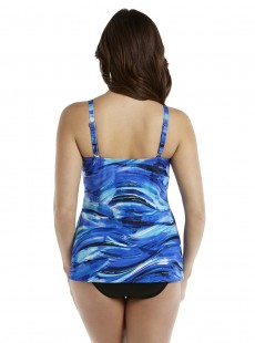 "Tankini Love Knot - The breakers - ""M"" -Miraclesuit Swimwear"