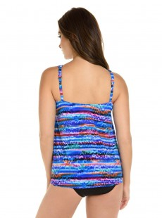 "Tankini Mirage - Animal Spectrum- ""M"" -Miraclesuit Swimwear"
