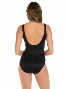 "Maillot de bain gainant Revele Noir - Rock Solid - ""M"" - Miraclesuit Swimwear"