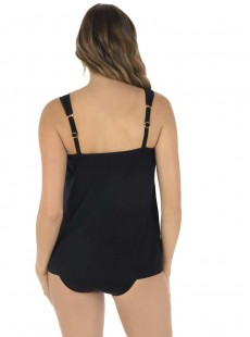"Tankini Dazzle Noir - Razzle Dazzle - ""M"" -Miraclesuit Swimwear"