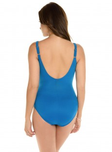 "Maillot de bain gainant Sanibel bleu - Must haves - ""M"" -Miraclesuit Swimwear"