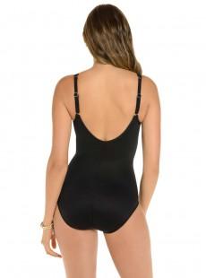 "Maillot de bain gainant Madero Noir - Network - ""M"" - Miraclesuit Swimwear"