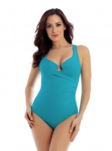 "Maillot de bain gainant Escape Bleu clair - Must haves - ""M"" -Miraclesuit Swimwear"