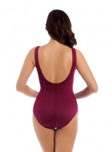 """Maillot de bain gainant Escape Rouge Foncé - Must haves - """"M"""" -Miraclesuit Swimwear"""
