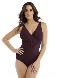 "Maillot de bain gainant Oceanus Bordeaux - Must haves - ""FC"" -Miraclesuit Swimwear"