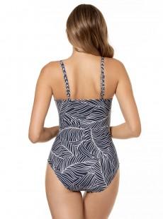 "Maillot de bain gainant Pin Up - Lush Lanai - ""FC"" -Miraclesuit Swimwear"