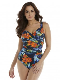 "Maillot de bain gainant Sanibel - Samoan Sunset - ""M"" -Miraclesuit Swimwear"