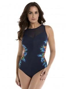 "Maillot de bain gainant Fascination - Samoan Sunset - ""M"" -Miraclesuit Swimwear"