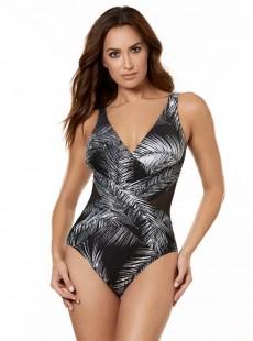 "Maillot de bain gainant Crossover - Night Flight - ""M"" - Miraclesuit Swimwear"