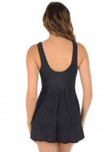 "Robe de bain gainante Marais Noire - Must haves - Pin point - ""M"" -Miraclesuit Swimwear"
