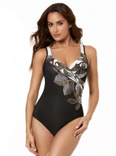 "Maillot de bain gainant It's a Wrap - Petal to The metal - ""M"" - Miraclesuit swimwear"