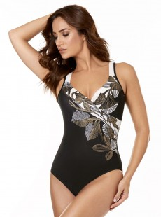 "Maillot de bain gainant It's a Wrap - Petal to The metal - ""M"" - Miraclesuit swimwear"