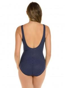 "Maillot de bain gainant Oceanus Bleu - Must haves - Pin point - ""M"" -Miraclesuit Swimwear"