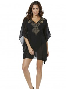 "Caftan brodé - Petal to The metal - ""M - Miraclesuit swimwear"