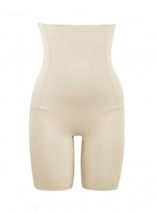 Panty taille haute grandes tailles nude - Confortable/Ferme