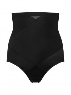 Culotte gainante taille haute Noire - Cross Control X-Firm - Miraclesuit Shapewear