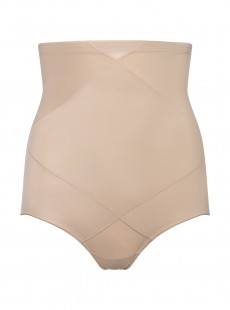 Culotte gainante taille haute Nude - Cross Control X-Firm - Miraclesuit Shapewear