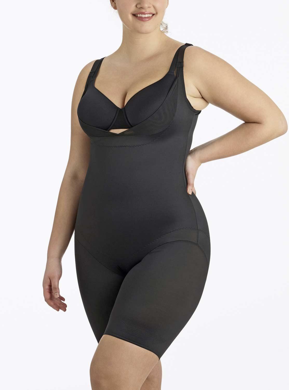 7958838fac4 Combinaison torsette gainante Noire - Flexible Fit - Miraclesuit Shapewear.  Loading zoom