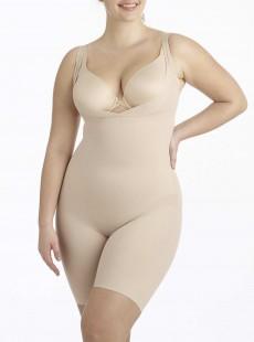 Combinaison torsette gainante Nude - Flexible Fit - Miraclesuit Shapewear