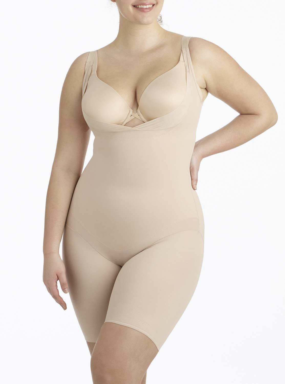 1e017cfc87d Combinaison torsette gainante Nude - Flexible Fit - Miraclesuit Shapewear