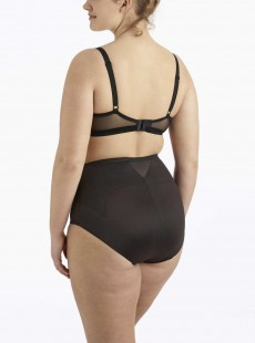 Culotte gainante mi-haute Noire - Flexible Fit - Miraclesuit Shapewear