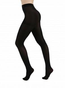 Collants 120 Deniers Opaques Noir - Pamela Mann