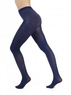 Collants 50 Deniers Opaques Bleu - Pamela Mann