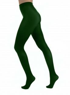 Collants 50 Deniers Opaques Vert - Pamela Mann