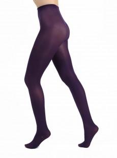 Collants 50 Deniers Opaques Violet - Pamela Mann