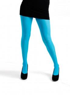 Collants 50 Deniers Opaques Turquoise - Pamela Mann