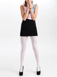 Collants 50 Deniers Opaques Blanc - Pamela Mann