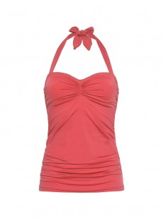 Top Tankini bustier - Ocean Coral Red - Cyell