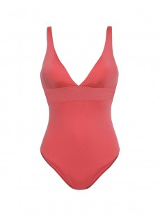 Maillot une pièce -  Ocean Coral Red - Cyell