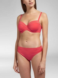 Culotte de bain classique -  Ocean Coral Red - Cyell